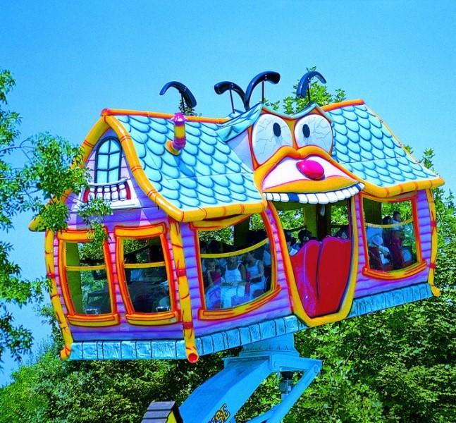 La casa matta Mirabilandia